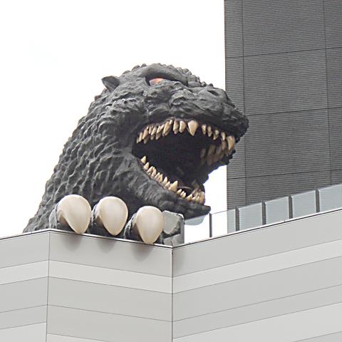 新宿 ゴジラを見てきました。
